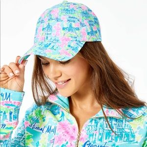 Lilly Pulitzer Accessories - 🆕 Lilly Pulitzer Run Around Hat ❤️ DC